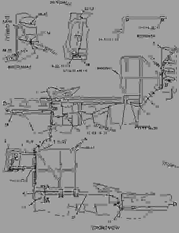 3061996 wiring group-chassis - caterpillar