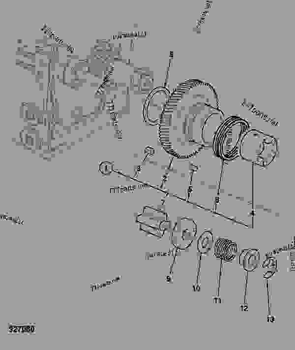 927080 pump, oil construction jcb 8030zts parts catalogue, 8025 30 35 Basic Electrical Wiring Diagrams at edmiracle.co