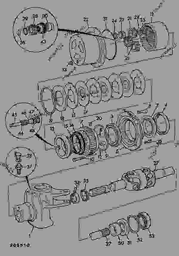 john deere 520 loader parts diagram