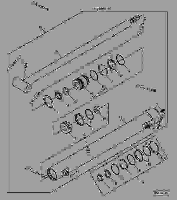742b Bobcat Hydraulic Diagram on john deere 430 parts diagram
