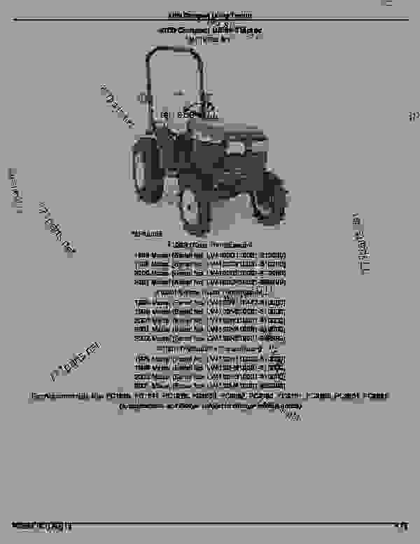 4100 compact utility tractor  introduction