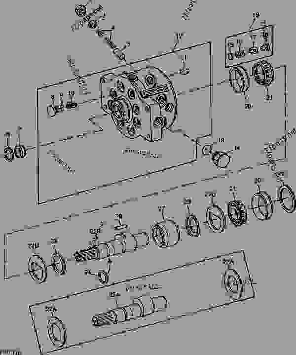 Hydraulic Pump Model Ja1 65 Cm3 4 In3 Serialized Power. List Of Spare Parts. John Deere. John Deere 4230 Parts Diagram Air Cleaner At Scoala.co