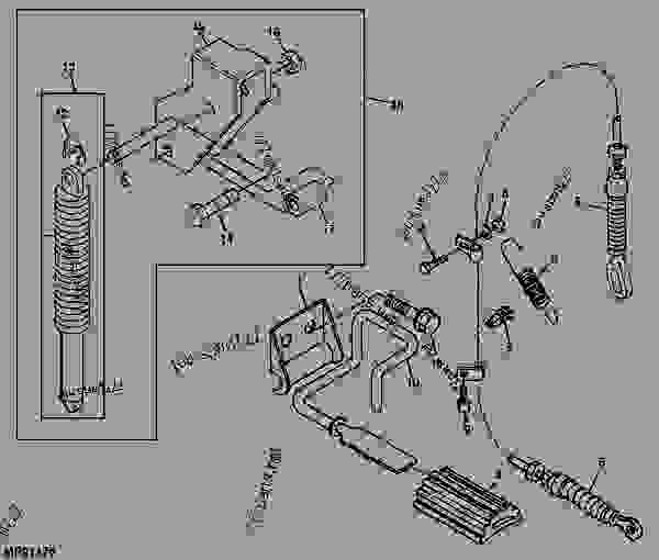 Replacement Parts likewise S112974 besides Ford 1710 Tractor Hydraulic System Diagrams further Diagram Mower Deck Belt Broke Got New likewise 1126042 Adjustment And Tuning Of A Chainsaw Carburetor. on john deere 400 parts diagram