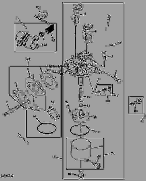 john deere gator 4x2 parts diagram