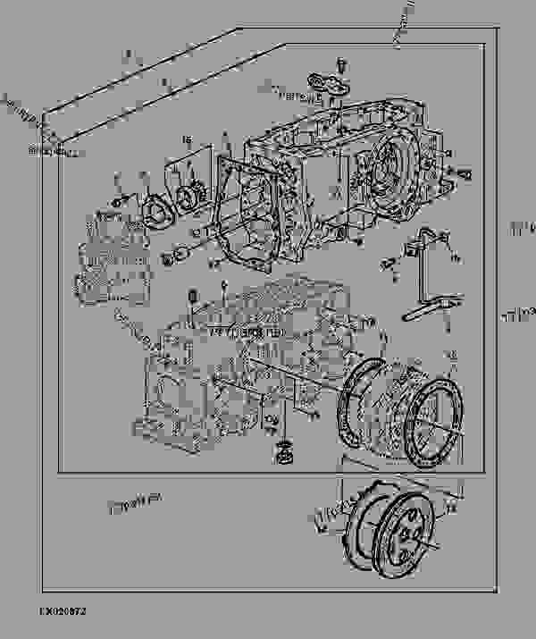 transmission case conversion kit  w  increased lifting
