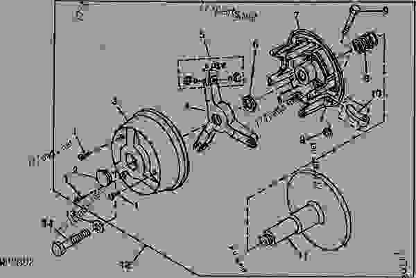 john deere gator transmission parts
