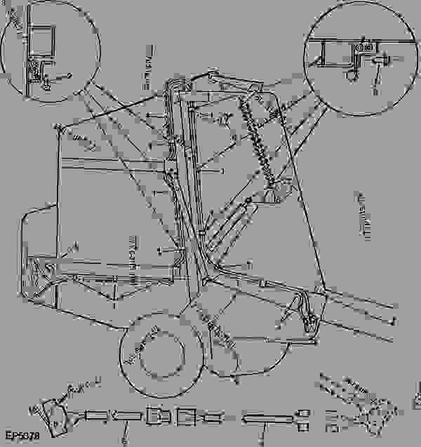 john deere 435 baler parts manual
