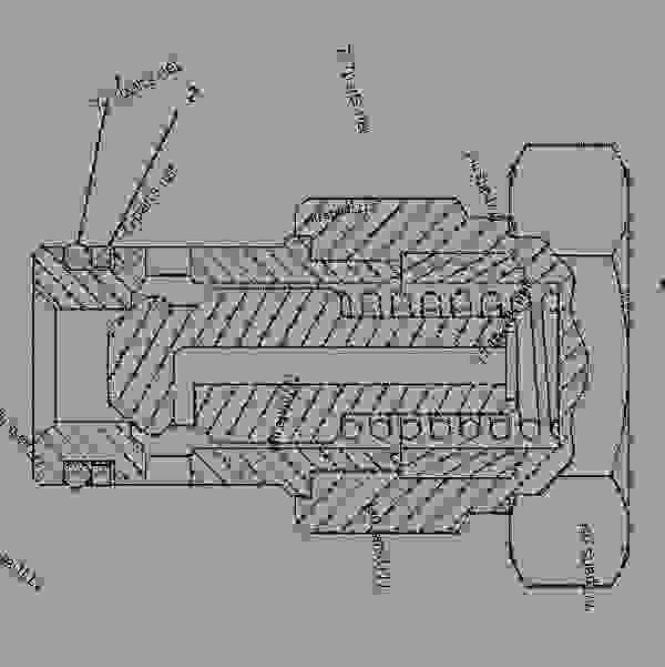 1291101 valve group-check -fuel-fuel filter - caterpillar