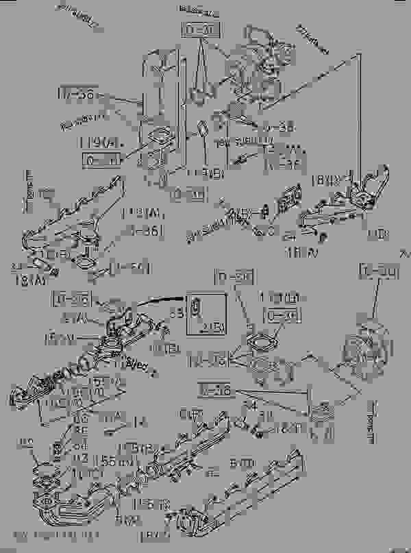 Superb Exhaust Manifold Hitachi Ex200 3 Ex200 3 Isuzu Engine Wiring Digital Resources Antuskbiperorg