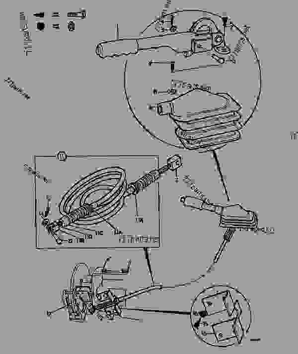 Jcb Control Lever : Control parking brake agricultural jcb d regular