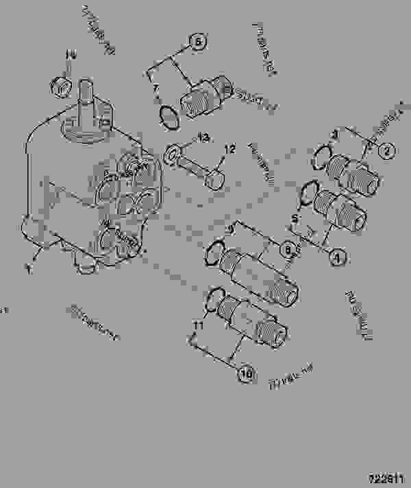 valve  auxiliary  backhoe  gear pump  auxiliary  u0026 extradig