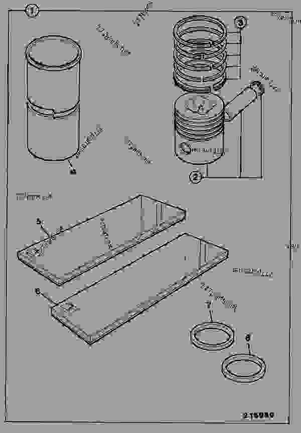 KIT, ENGINE OVERHAUL, LH BUILD - CONSTRUCTION JCB 3DS-2