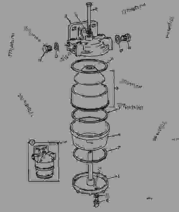 filter  fuel sediment  lh build