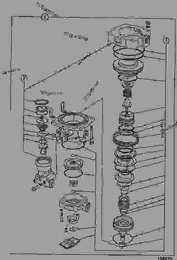 Valve Trailer Control Construction Jcb Fastrac 2150