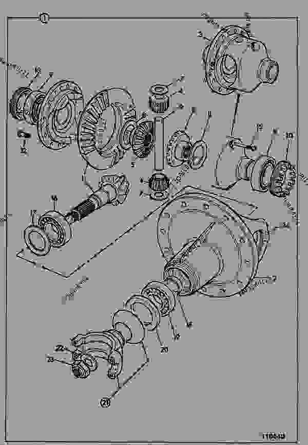 Jcb 508c Parts manual