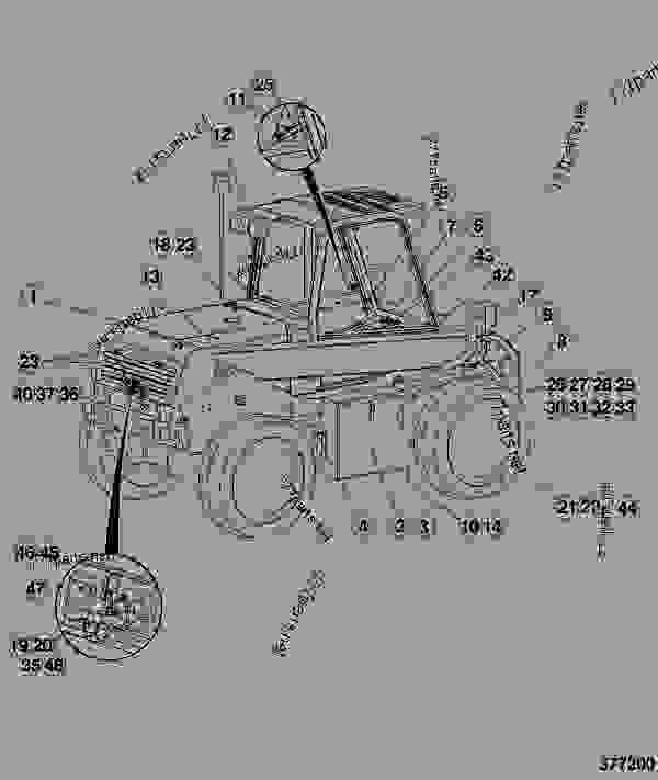 dutch military  features - construction jcb  520 le  7820  m754000