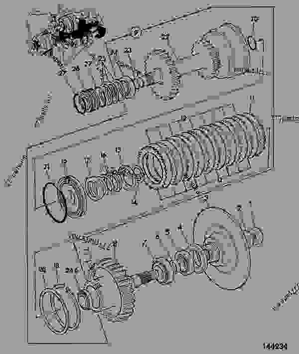 mainshaft  components  p  shift transmission