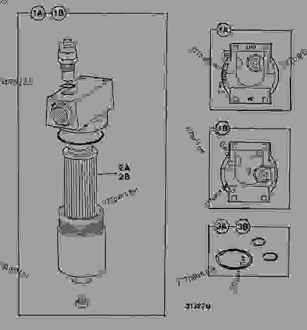 filter  hydraulic  auxiliary circuit