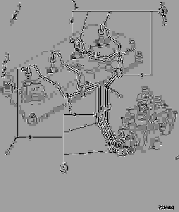 fuel pipework  high pressure  tca - vibromax jcb 320  40027