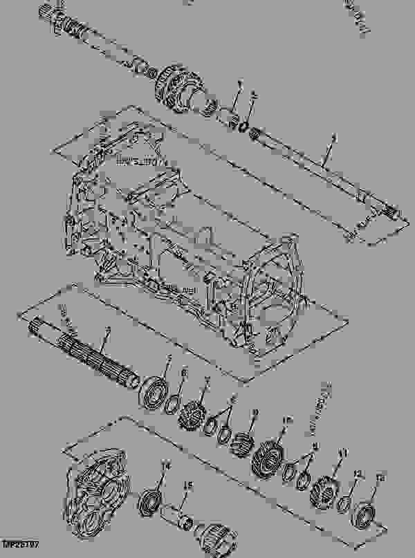 Drive Shaft 01g22 John Deere 4610 Tractor. List Of Spare Parts. John Deere. John Deere 4610 Pto Shaft Diagram At Scoala.co