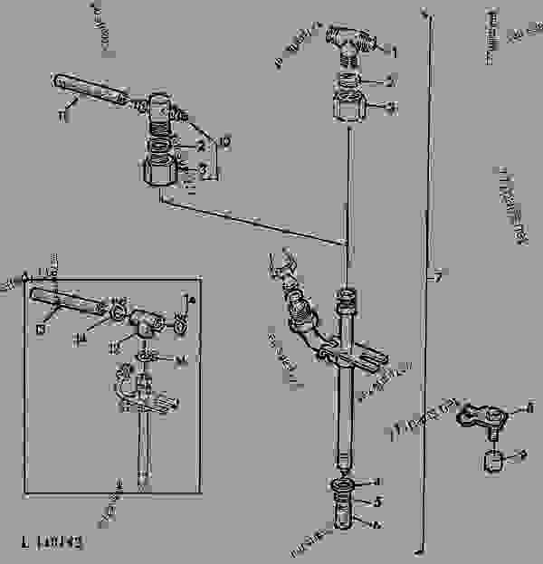 Fuel Injection Nozzle Roosa Master 01d01 John Deere 920