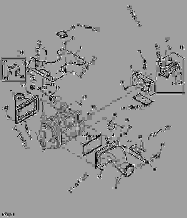 PUMP ASSEMBLY POWERTECH John Deere 6090HR001 ENGINE – John Deere 4930 Cab Wiring Schematics