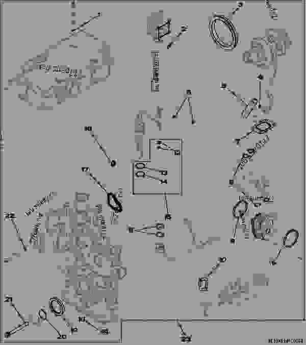 John Deere 4024t Engine Diagrams Schematics And
